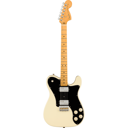 Fender American Professional II Telecaster® Deluxe Maple Fingerboard Olympic White