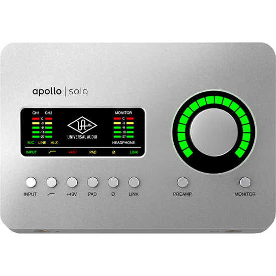 Universal Audio Apollo Solo Heritage Edition USB