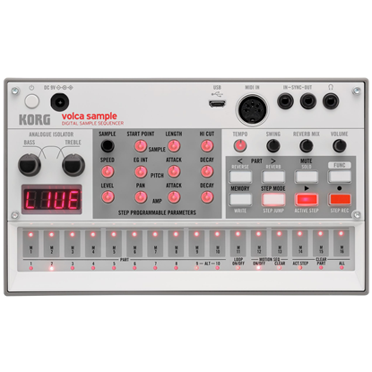 Korg Volca Sample2 Digital Sample Sequencer