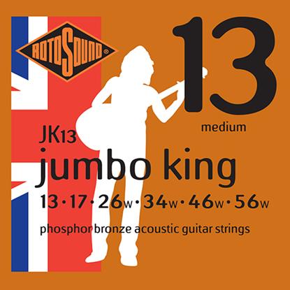 Rotosound Jumbo King JK13 Medium Light 13-56