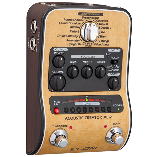 Bild på ZOOM AC-2 Acoustic Creator