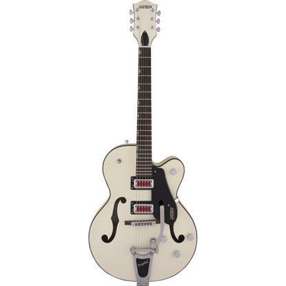 """Gretsch G5410T Electromatic® """"Rat Rod"""" Hollow Body Single-Cut With Bigsby® Matte Vintage White"""