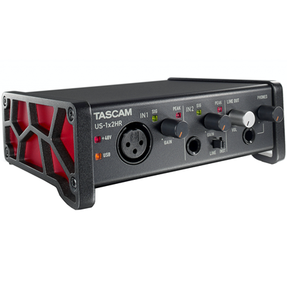 Tascam US-1x2HR High Resolution Versatile USB Audio Interface
