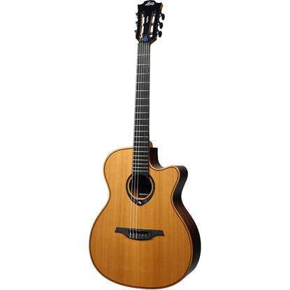 Bild på Lag Nylon Hyvibe 15 TNHV15ACE Smart Guitar