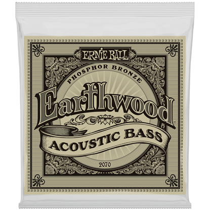 Ernie Ball Earthwood Phosphor Bronze Acoustic Bass Strings