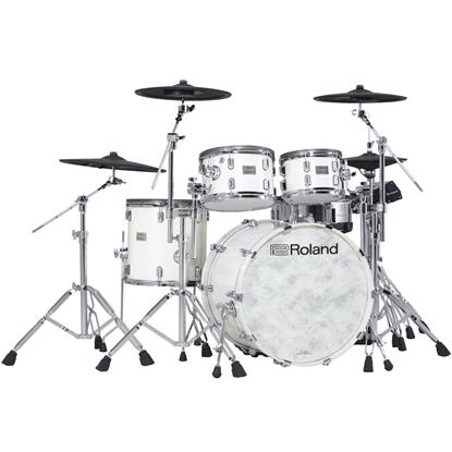 Roland VAD706-PW V-Drums Acoustic Design Kit Pearl White