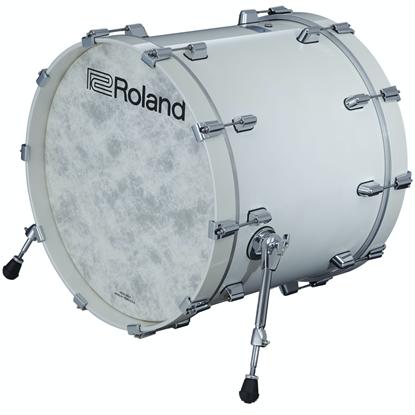 Roland KD-222-PW Kick Drum Pad Pearl White