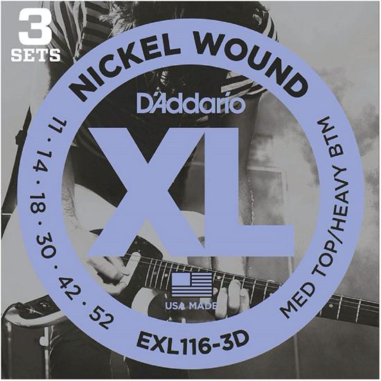 D'Addario EXL116-3D