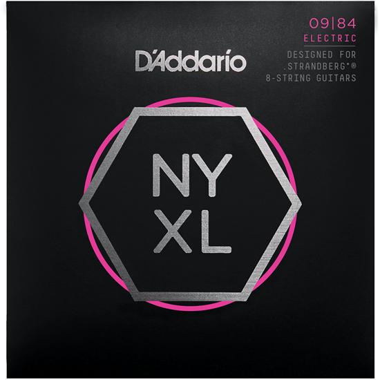 D'Addario NYXL0984 Custom Light Strandberg 8 String Set