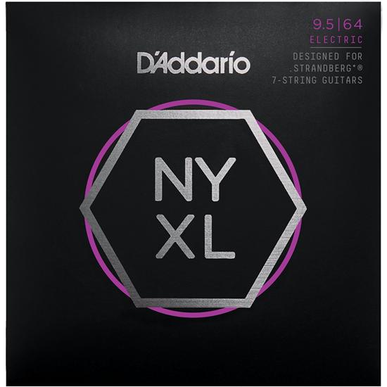 D'Addario NYXL09564 Custom Light Strandberg 7 String Set