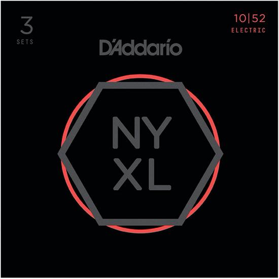D'Addario NYXL1052-3P Light Top Heavy Bottom