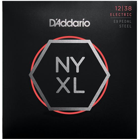 D'Addario NYXL1238PS E9th Pedal Steel Custom Medium Set