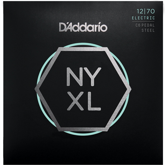 D'Addario NYXL1270PS C6th Pedal Steel Custom Medium Set