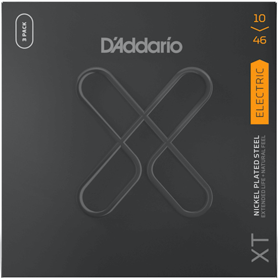 D'Addario XTE1046-3P Regular Light