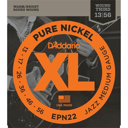 D'Addario EPN22 Pure Nickel