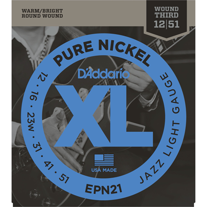 D'Addario EPN21 Pure Nickel