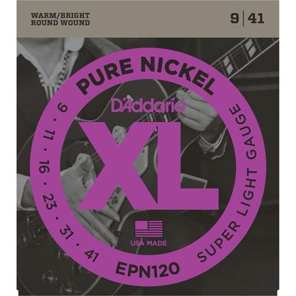 D'Addario EPN120 Pure Nickel