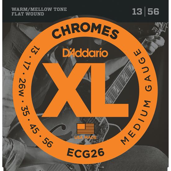 D'Addario ECG26 Chromes Medium