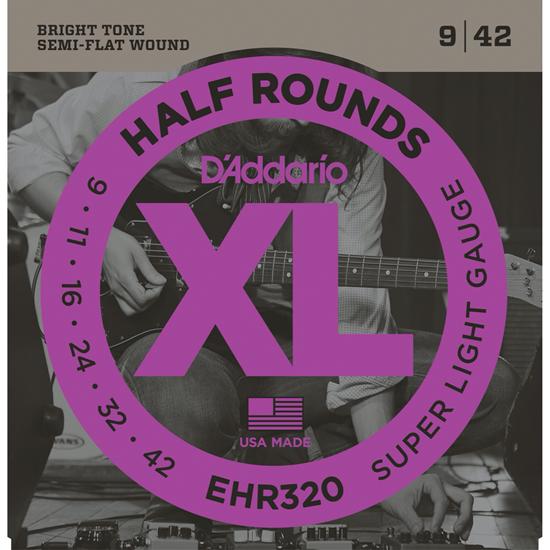 D'Addario EHR320 Half Rounds