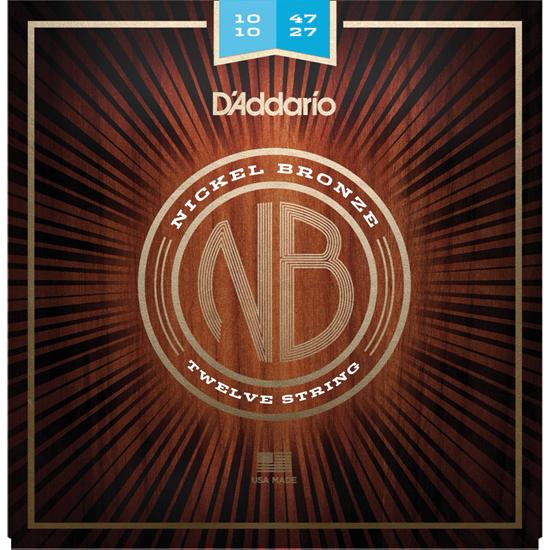 D'Addario NB1047-12 Nickel Bronze