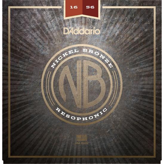 D'Addario NB1656 Nickel Bronze Resophonic
