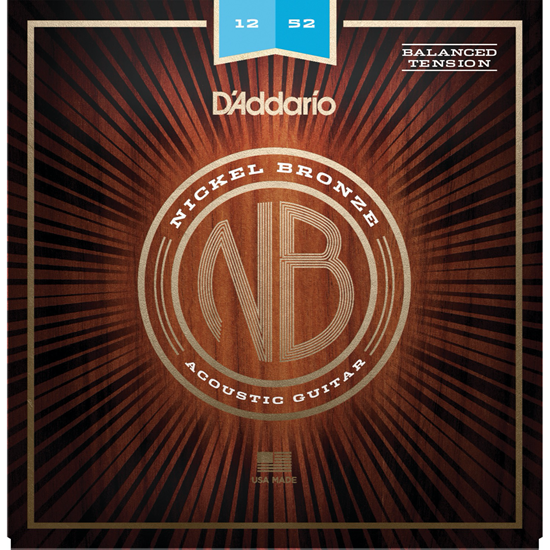 D'Addario NB1252BT Nickel Bronze Balanced Tension
