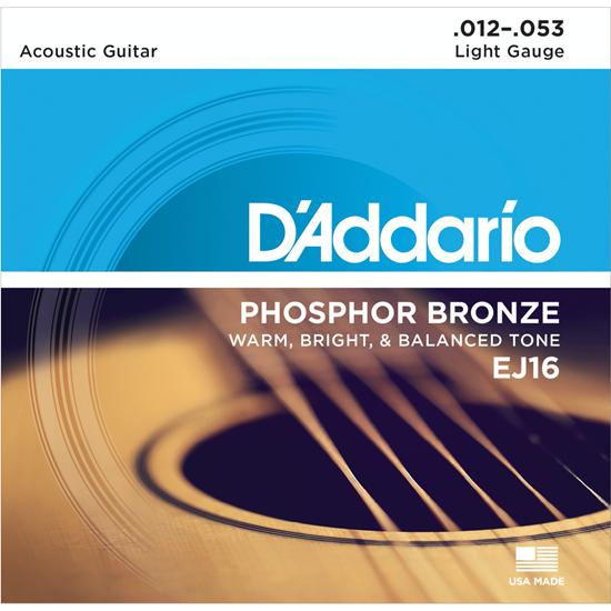 D'Addario EJ16-B25 Phosphor Bronze