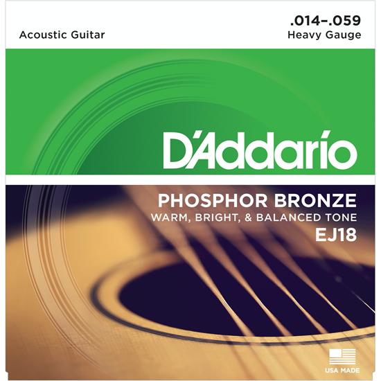 D'Addario EJ18 Phosphor Bronze