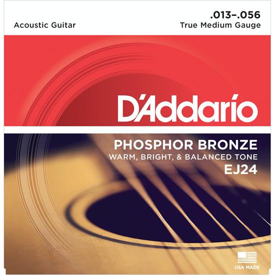 D'Addario EJ24 Phosphor Bronze