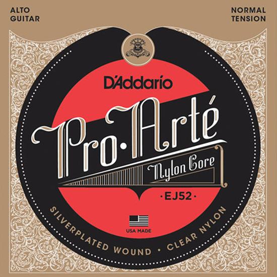D'Addario EJ52 Pro Arté Normal Tension Alto Guitar