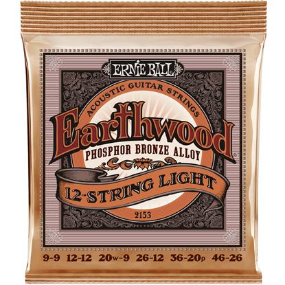 Ernie Ball 2153 12-String Light Earthwood Phosphor Bronze