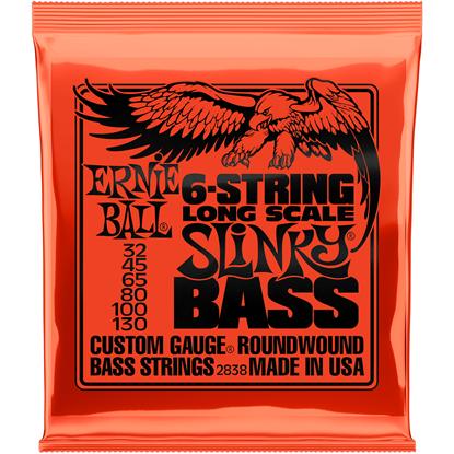 Ernie Ball 2838 6-String Long Scale Slinky Electric Bass