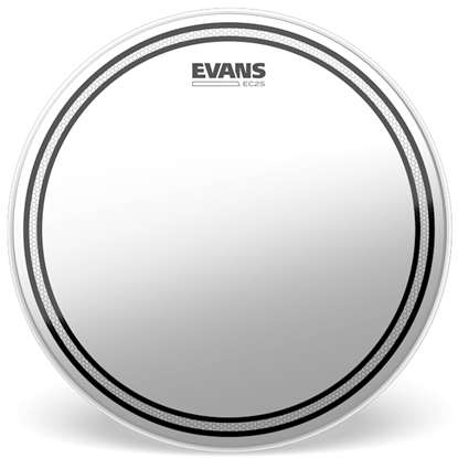 """Evans EC2S 6"""" Frosted Drumhead"""