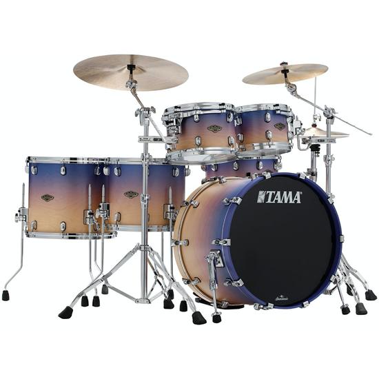 Tama Starclassic Walnut/Birch WBS52RZS Satin Purple Atmosphere Fade