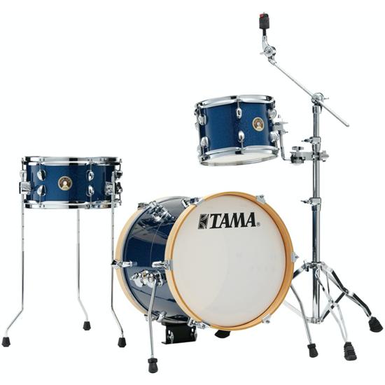 Tama Club-JAM Suitcase Kit LJK36S-ISP Indigo Sparkle
