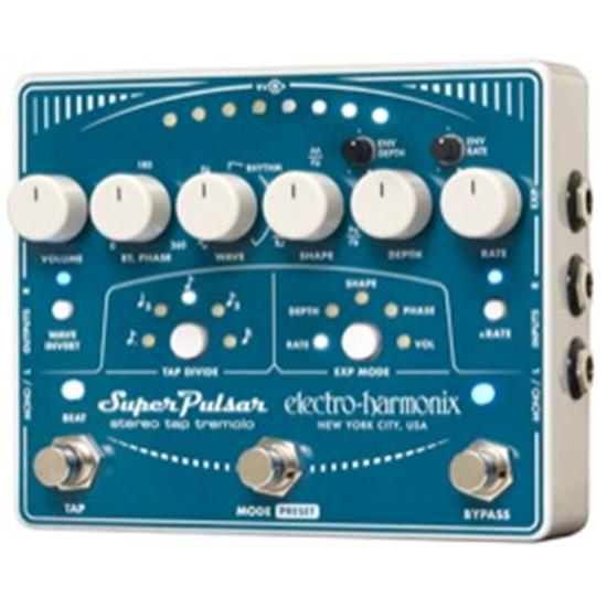 Bild på Electro-Harmonix Super Pulsar -  Stereo Tap Tremolo