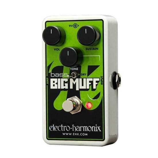 Bild på Electro Harmonix NANO BASS BIG MUFF PI Distortion/Sustainer