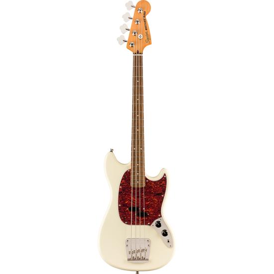 Bild på Squier Classic Vibe '60s Mustang® Bass  Laurel Fingerboard Olympic White