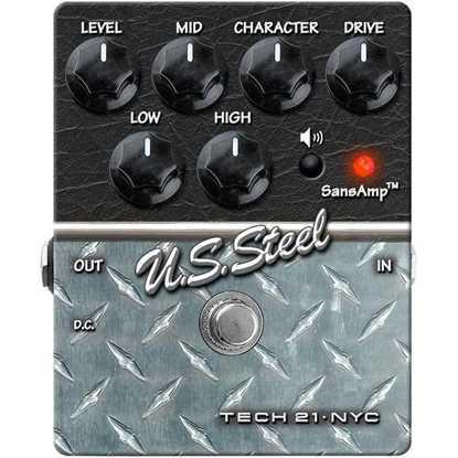 Bild på Tech 21 Sansamp Character U.S. Steel