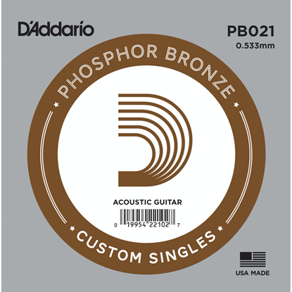 D'Addario PB021 Phosphor Bronze