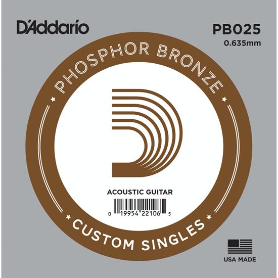 D'Addario PB025 Phosphor Bronze