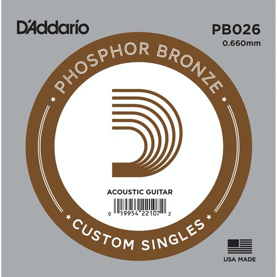 D'Addario PB026 Phosphor Bronze