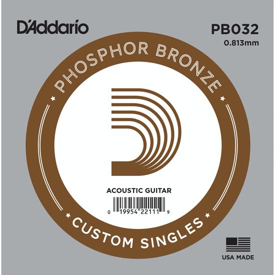 D'Addario PB032 Phosphor Bronze