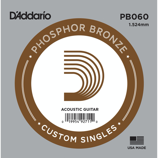 D'Addario PB060 Phosphor Bronze