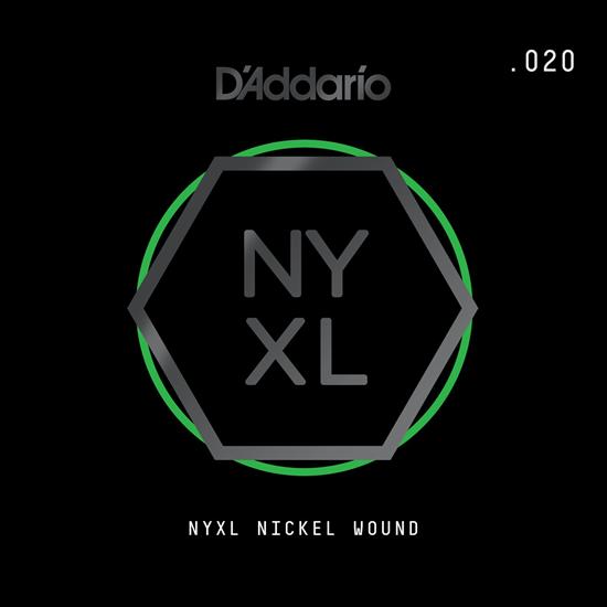 D'Addario NYNW020 NYXL Nickel Wound