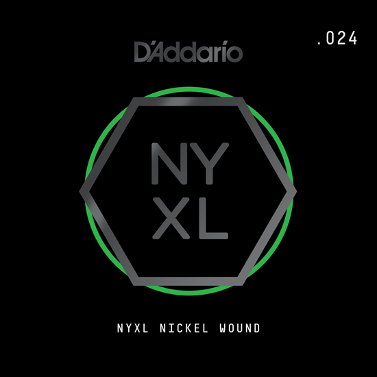 D'Addario NYNW024 NYXL Nickel Wound