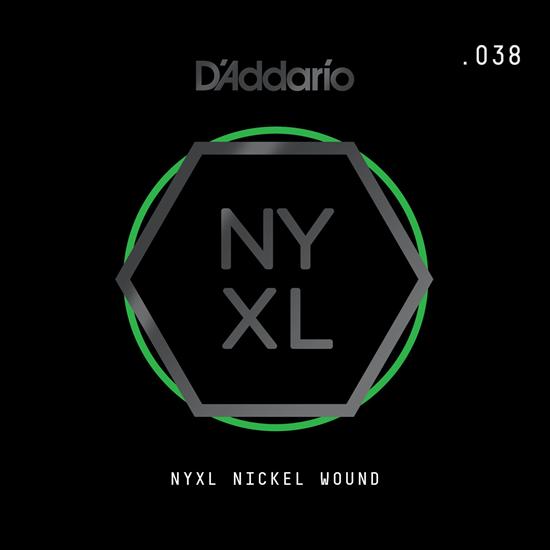 D'Addario NYNW038 NYXL Nickel Wound