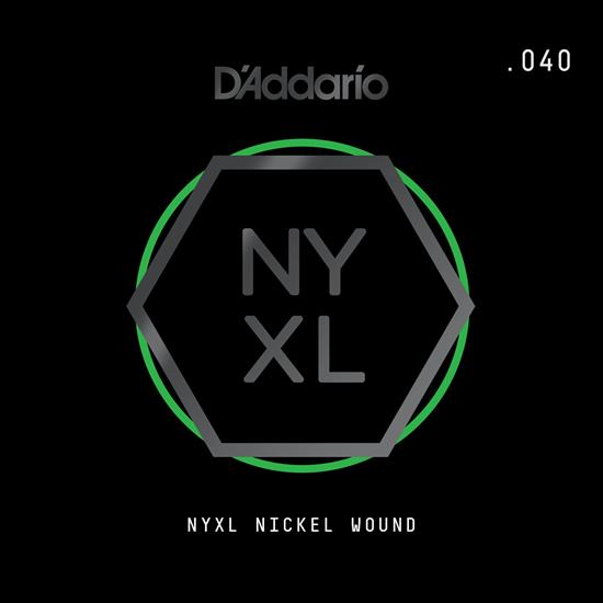 D'Addario NYNW040 NYXL Nickel Wound