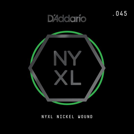 D'Addario NYNW045 NYXL Nickel Wound