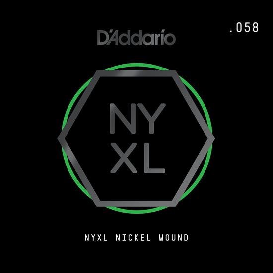 D'Addario NYNW058 NYXL Nickel Wound